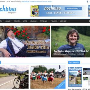 hochblau ONLINE - Freizeitmagazin